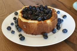 Heidelbeeren-Cheesecake