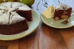 Birnen-Schoko Kuchen